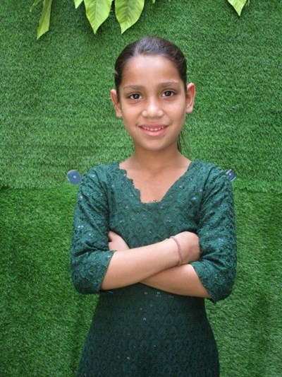 Help Aayat by becoming a child sponsor. Sponsoring a child is a rewarding and heartwarming experience.