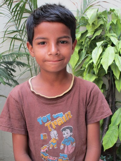 Help Mohammed by becoming a child sponsor. Sponsoring a child is a rewarding and heartwarming experience.