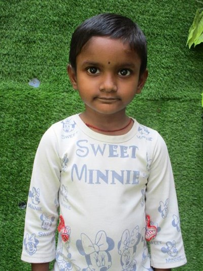 Help Aradhya by becoming a child sponsor. Sponsoring a child is a rewarding and heartwarming experience.