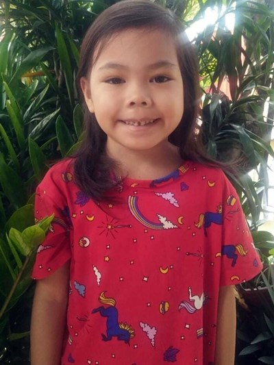 Help Arvi Sky Lei P. by becoming a child sponsor. Sponsoring a child is a rewarding and heartwarming experience.