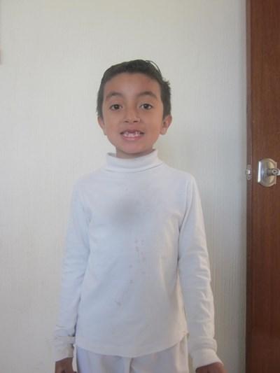 Help Evan Gabriel by becoming a child sponsor. Sponsoring a child is a rewarding and heartwarming experience.