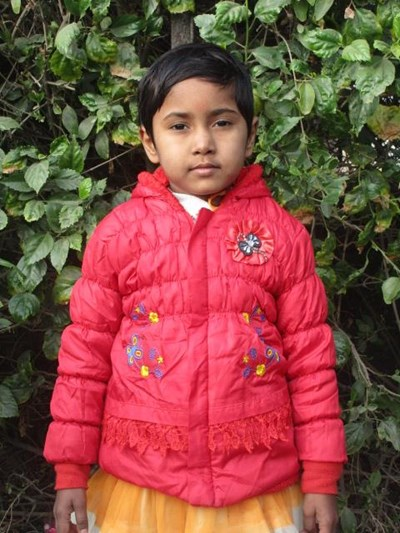 Help Bhakti by becoming a child sponsor. Sponsoring a child is a rewarding and heartwarming experience.
