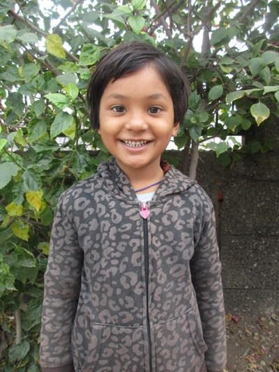 Help Aliya by becoming a child sponsor. Sponsoring a child is a rewarding and heartwarming experience.