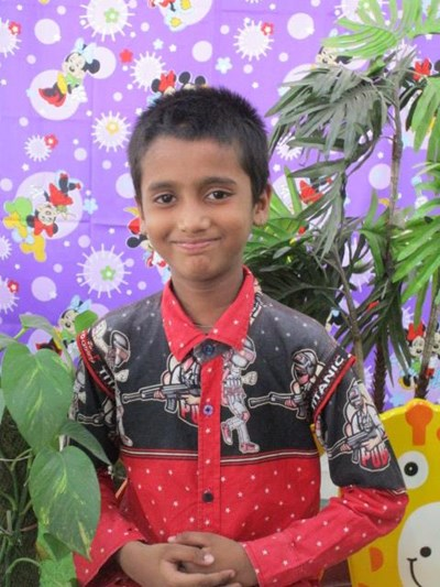 Help Aayan by becoming a child sponsor. Sponsoring a child is a rewarding and heartwarming experience.