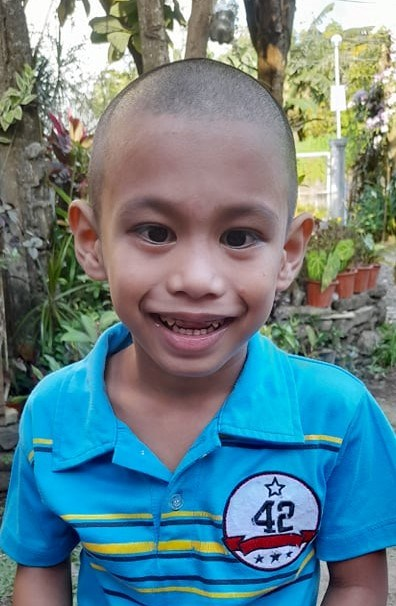 Help Aizen Ace S. by becoming a child sponsor. Sponsoring a child is a rewarding and heartwarming experience.