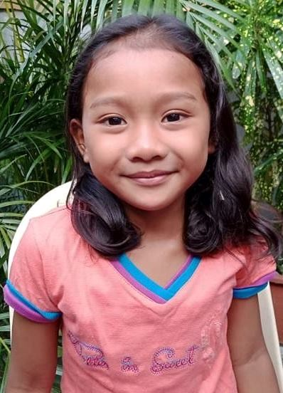 Help Princess Yza B. by becoming a child sponsor. Sponsoring a child is a rewarding and heartwarming experience.