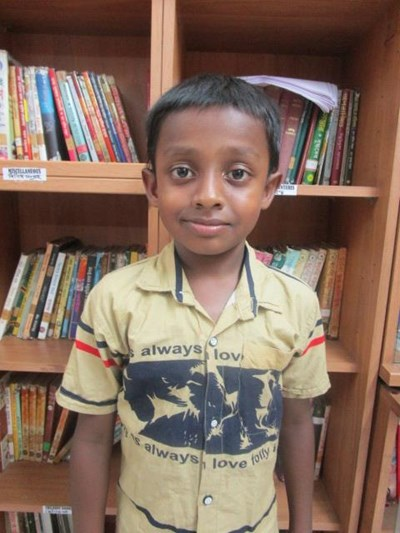 Help Kushan by becoming a child sponsor. Sponsoring a child is a rewarding and heartwarming experience.