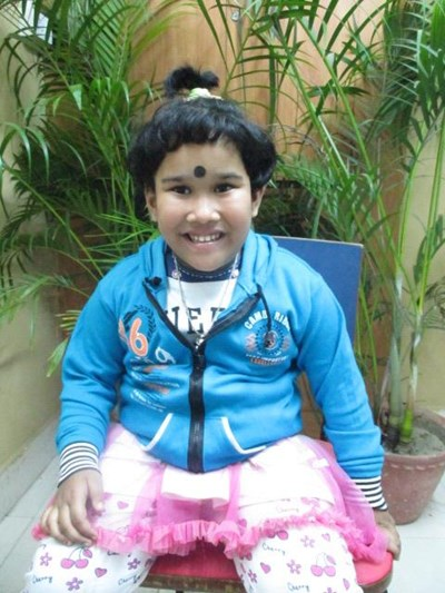Help Sritika by becoming a child sponsor. Sponsoring a child is a rewarding and heartwarming experience.