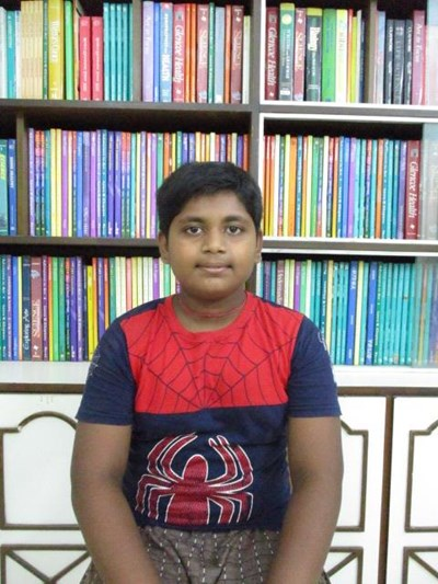 Help Sudhansu Kumar by becoming a child sponsor. Sponsoring a child is a rewarding and heartwarming experience.