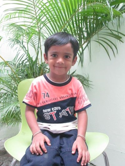 Help Rishabh by becoming a child sponsor. Sponsoring a child is a rewarding and heartwarming experience.
