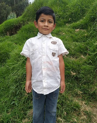 Help Cristofer Santiago by becoming a child sponsor. Sponsoring a child is a rewarding and heartwarming experience.