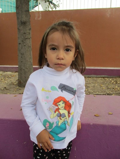 Help Catherine Lizeth by becoming a child sponsor. Sponsoring a child is a rewarding and heartwarming experience.
