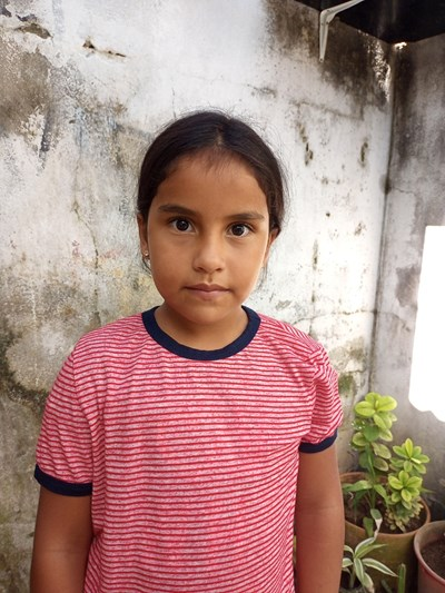 Help Valeria Andrea by becoming a child sponsor. Sponsoring a child is a rewarding and heartwarming experience.