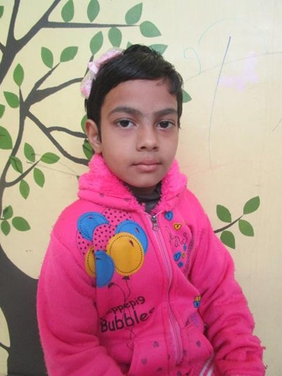 Help Bushra by becoming a child sponsor. Sponsoring a child is a rewarding and heartwarming experience.