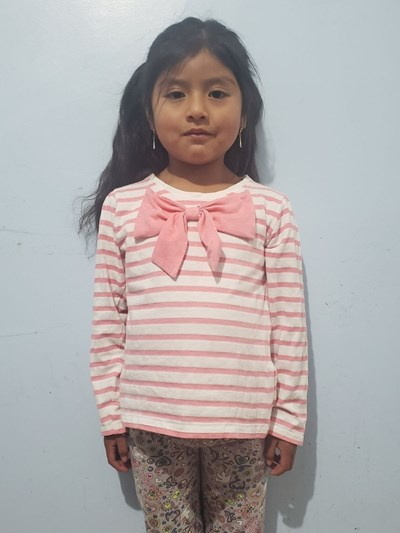 Help Genesis Yuleidi by becoming a child sponsor. Sponsoring a child is a rewarding and heartwarming experience.