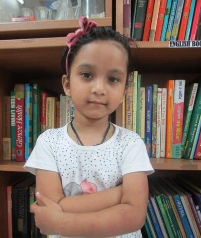 Help Shriya by becoming a child sponsor. Sponsoring a child is a rewarding and heartwarming experience.