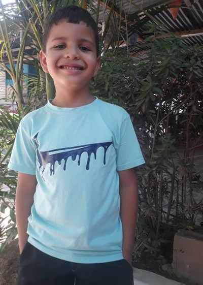 Help Gerard David by becoming a child sponsor. Sponsoring a child is a rewarding and heartwarming experience.