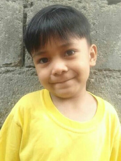 Help Jonas Jr. A. by becoming a child sponsor. Sponsoring a child is a rewarding and heartwarming experience.