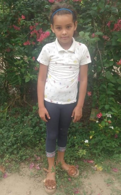 Help Hellen Alexandra by becoming a child sponsor. Sponsoring a child is a rewarding and heartwarming experience.