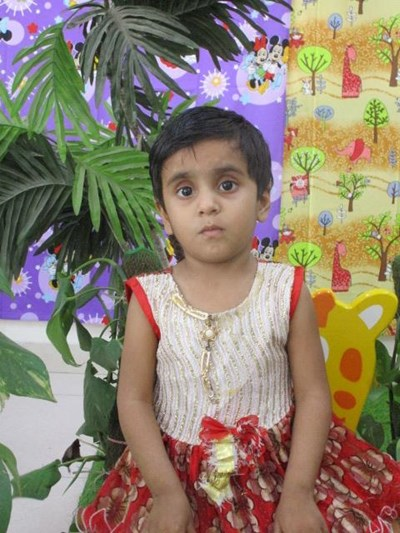 Help Ayasha by becoming a child sponsor. Sponsoring a child is a rewarding and heartwarming experience.