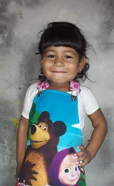 Help Brithanny  Sofia by becoming a child sponsor. Sponsoring a child is a rewarding and heartwarming experience.