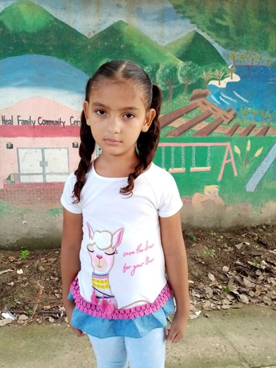 Help Meyli Sarahi by becoming a child sponsor. Sponsoring a child is a rewarding and heartwarming experience.