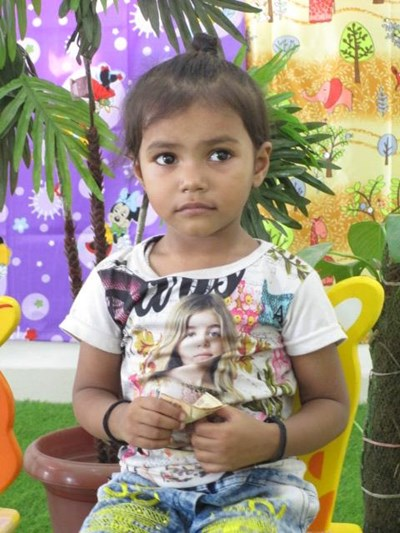 Help Dharika by becoming a child sponsor. Sponsoring a child is a rewarding and heartwarming experience.