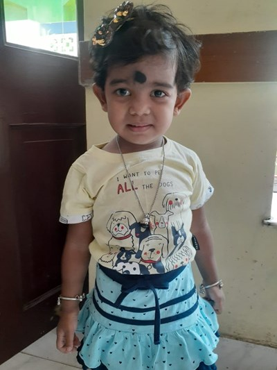 Help Aishita by becoming a child sponsor. Sponsoring a child is a rewarding and heartwarming experience.
