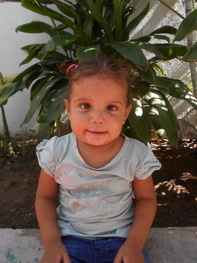 Help Nayelis Sofia by becoming a child sponsor. Sponsoring a child is a rewarding and heartwarming experience.