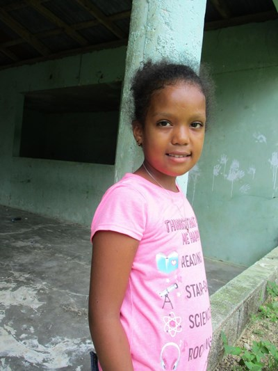 Help Yafreisy Michell by becoming a child sponsor. Sponsoring a child is a rewarding and heartwarming experience.