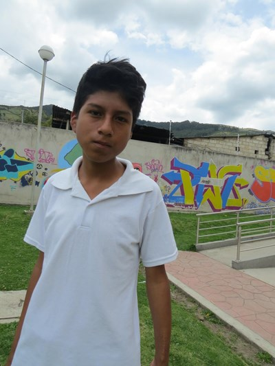 Help Lenin Andres by becoming a child sponsor. Sponsoring a child is a rewarding and heartwarming experience.